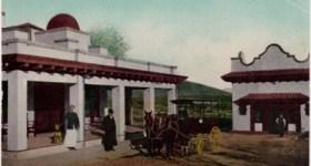 Vintage Postcard of Shaws Hot Springs near Carson City Nevada
