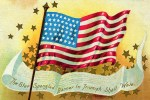 The Star Spangled Banner American Flag Postcard
