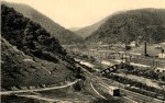 Vintage Postcard of The Narrows of Cumberland Maryland