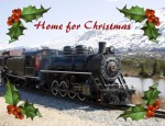 Home on the Train for Christmas