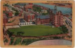 Vintage Duquesne University Postcard