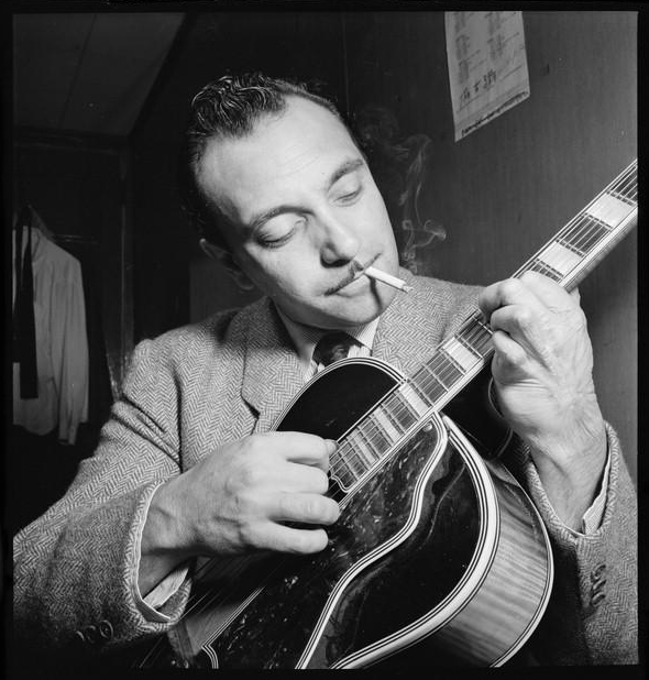 Django Reinhardt at the Aquarium, New York City, 1946