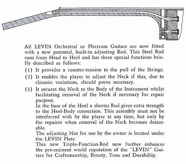 Levin bolt-on neck
