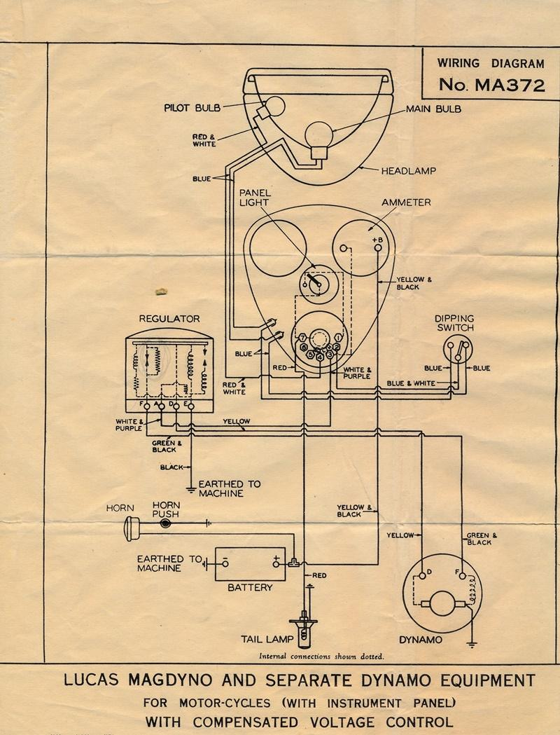 wiring diagram f motorcycles with instrument panel [ 800 x 1049 Pixel ]