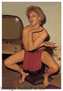 Sexy blonde Barbara