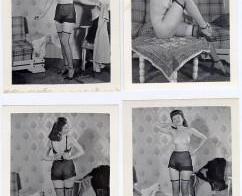 Four Polaroids – Vintage nude MILF