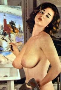 Janey Frawley - vintage painting