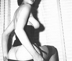 Vintage latin woman, stripping
