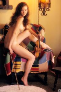 Bonnie Large Playboy Playmate 01