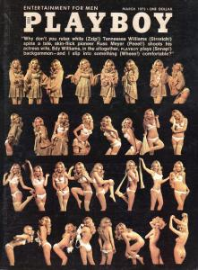 March 1973 Playboy Cover