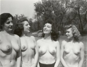with unknown nude models