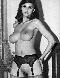Vintage Model with Big Boobs