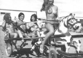 Nudist Camp Horse Ride