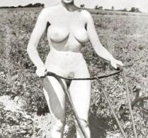 Vintage Naked Farmer