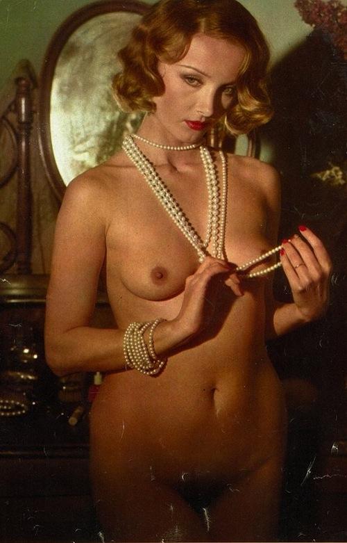 Barbara's first Playboy shoot