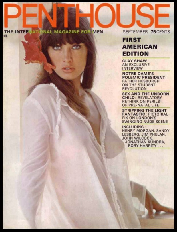 Penthouse September 1969 Cover