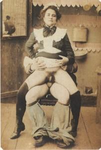 Vintage Maid gets fucked