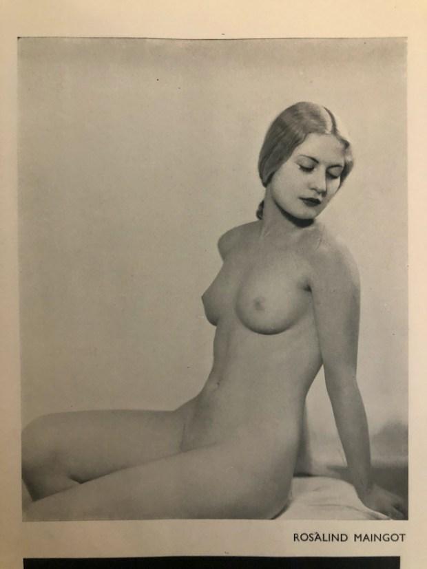 Vintage nude by Rosalind Maingot