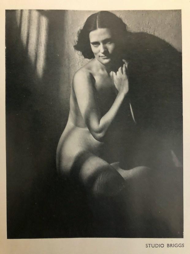 Vintage nude by Studio Briggs