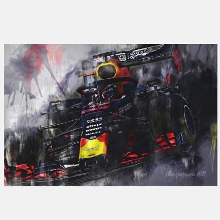 2019-formula1-maxverstappen-redbull-canvas-kunst