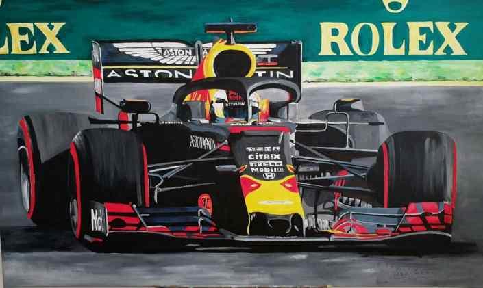 2019-formula1-maxverstappen-redbull-goevaers-schilderij