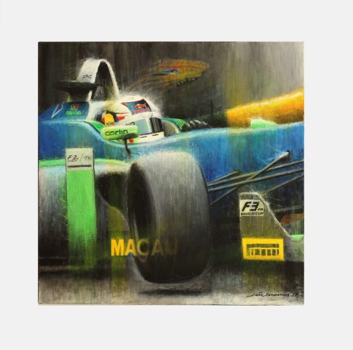 Felix_daCosta_macau_GP_art_schilderij_Speedworks