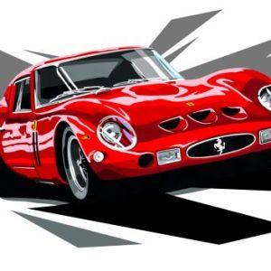 Ferrari-GTO-joel-clark-art