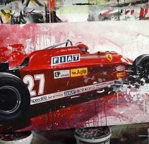 Giles Villeneuve ferrari F1