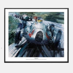 Ketchell-f1-audi-autounion-kunt-art-frame-schilderij