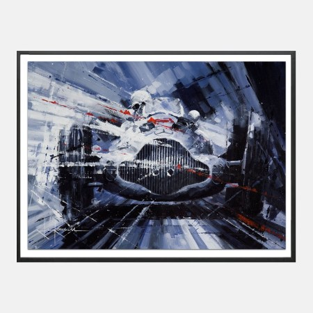 Ketchell-f1-mercedes-benz-1955-art-frame-kunst