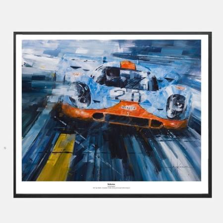 Ketchell-lemans-spa-porsche-917-kunt-art-frame-kunst