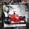 MIchael Schumacher Ferrari 2000 champion