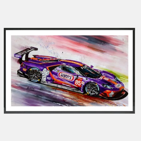 speedworks_art_kunst_ford_GT_lemans_pecar