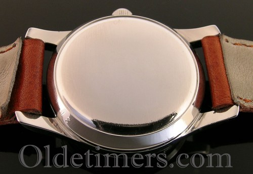 1940s stainless steel vintage automatic Longines watch (3580)