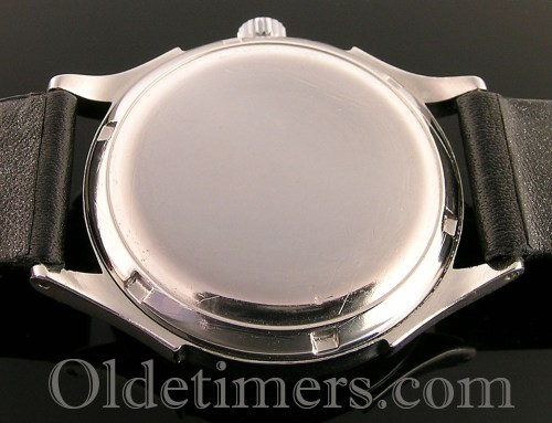 1940s steel vintage Omega Bumper watch
