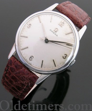 1960s stainless steel vintage Omega watch (3581)
