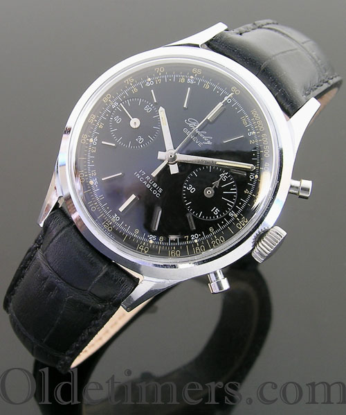 1950s steel vintage Berkeley chronograph watch (3146)