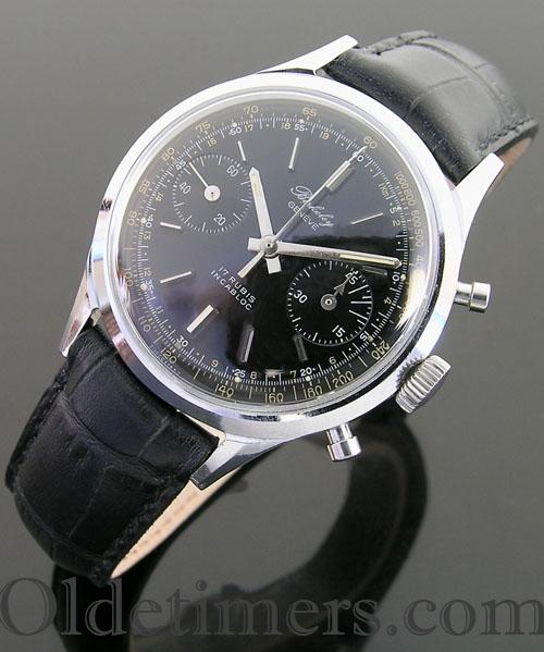 1950s steel vintage Berkeley chronograph watch (3146)