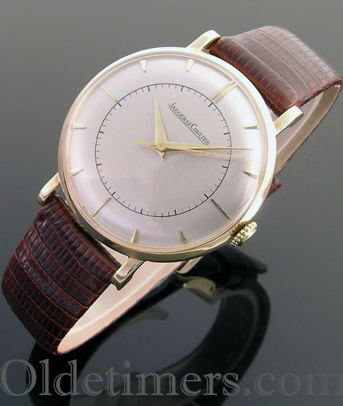 1950s 9ct gold vintage Jaeger LeCoultre watch (3735)