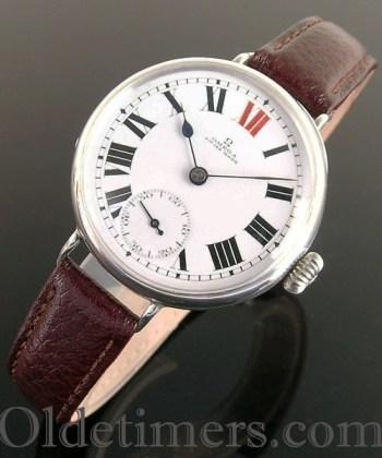 1915 silver vintage Omega watch