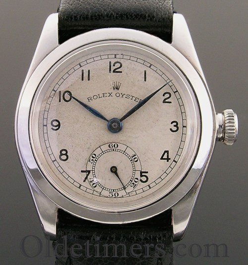 1940s steel vintage Rolex Oyster watch (2111)