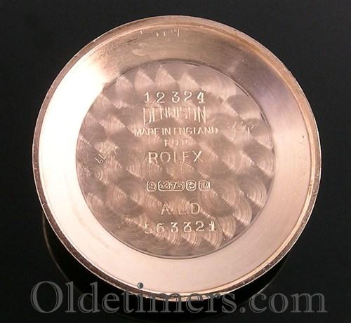 1950s 9ct gold round vintage Rolex watch (3689)