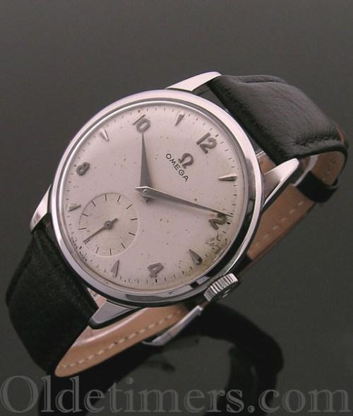 1950s steel round vintage Omega watch (3434)