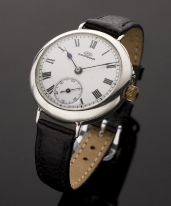 1906 rare early silver vintage International Watch Company (I.W.C.) watch