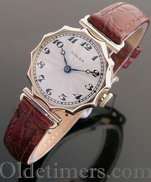1920s 9ct gold ladies vintage Rolex watch (3799)