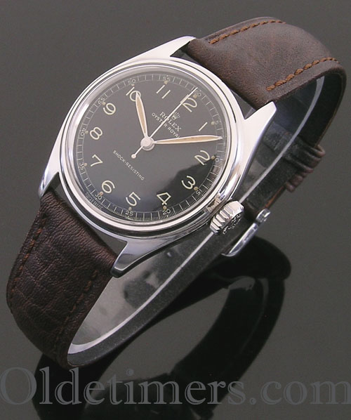 1940s steel vintage Rolex Oyster watch (3553)