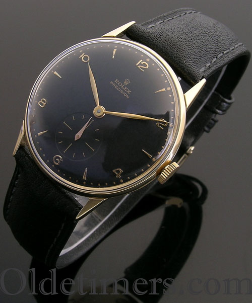 1950s 18ct gold vintage Rolex Precision watch (3810)