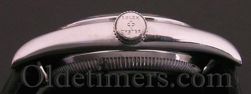 1940s steel vintage Rolex 'Bubbleback' watch