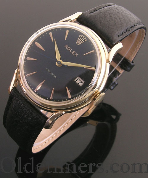 1960s 9ct gold vintage Rolex Precision watch (3900)