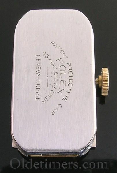 1930 9ct gold vintage Rolex Prince watch